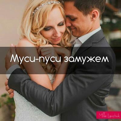 Муси-пуси замужем